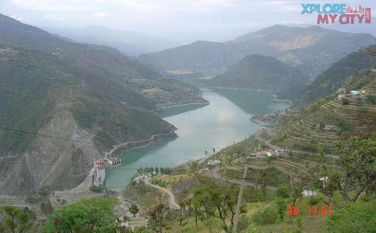 Chamera Dam project